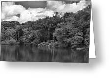Gnoll Country Estate 2 Mono Greeting Card
