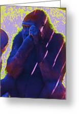 Go Ape Greeting Card