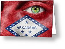 Go Arkansas  Greeting Card by Semmick Photo