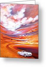 Corvette Heaven Greeting Card