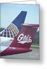 Go Griz Greeting Card