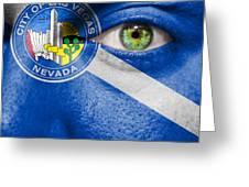 Go Las Vegas Greeting Card