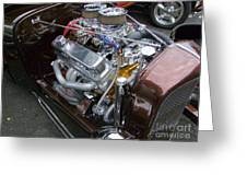 1938 Ford Roadster Go Power Greeting Card