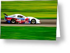Go Speed Racer Go Greeting Card