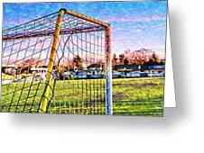 Goal Of Dreams Greeting Card