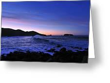 Goat Rock Sunrise Greeting Card