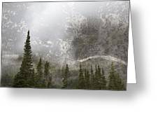 Going To The Sun Road Greeting Card