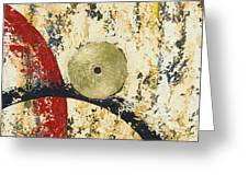 Gold And Silver 1 Greeting Card