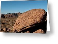 Gold Butte Sandstone Greeting Card