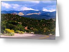 Gold In Them Hills Greeting Card