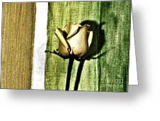 Gold Tulip Greeting Card