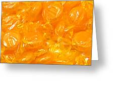 Golden Butterscotch Square Greeting Card