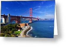 Golden Gate Bridge 1. Greeting Card