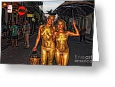 Golden Girls Of Bourbon Street  Greeting Card