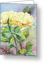 Golden Ladies Greeting Card by Kathryn Duncan