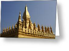 Golden Palace Laos 2 Greeting Card
