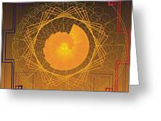 Golden Ratio 2012 Greeting Card
