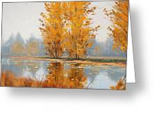 Golden Stillness  Greeting Card by Graham Gercken