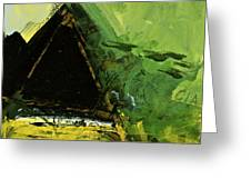 Golden Triangle Greeting Card by Cliff Spohn