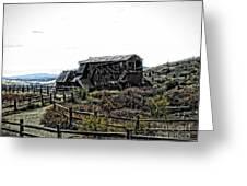 Goldfield Colorado Greeting Card