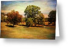 Golf Course II Greeting Card