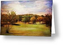 Golf Course IIi Greeting Card