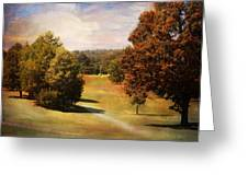 Golf Course Iv Greeting Card