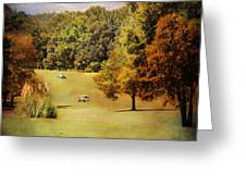 Golf Course V Greeting Card