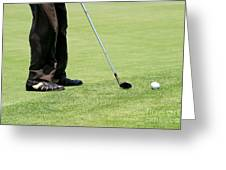 Golf Feet Greeting Card