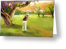 Golf In Spain Castello Masters  04 Greeting Card