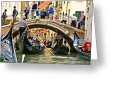Gondolas Galore Greeting Card