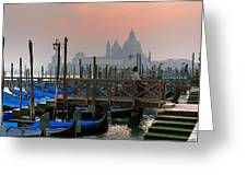 Gondole. Venezia. Greeting Card