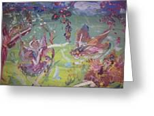 Good Morning Fairies Greeting Card