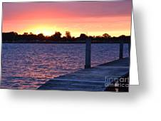 Good Morning From Marysville Michigan Usa Greeting Card