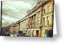 Good Morning! #newcastle #greystreet Greeting Card