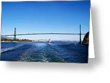 Goodby Vancouver Greeting Card