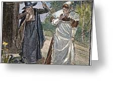 Goodwife Walford, 1692 Greeting Card