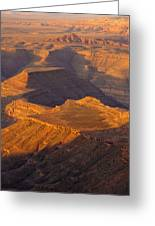 Goosenecks San Juan River Utah Greeting Card