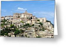Gordes In Provence Greeting Card