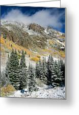 Gore Range Cold Greeting Card