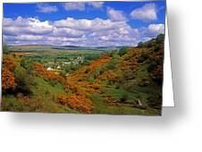 Gortin Valley, Co Tyrone, Ireland Greeting Card