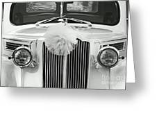 Got Married Bw Greeting Card
