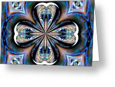 Gothic Blues Greeting Card