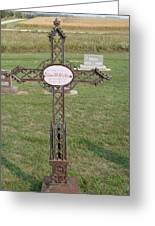 Gothic Grave Marker Greeting Card