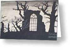 Gothic Landscape Greeting Card