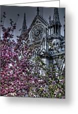 Gothic Paris Greeting Card