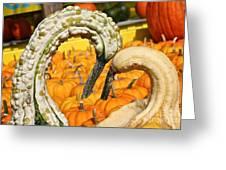 Gourd Heart Greeting Card