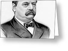 Governor Grover Cleveland - Twenty Second President Of The Usa Greeting Card by International  Images