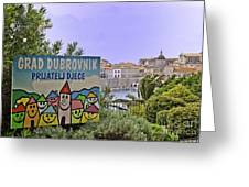 Grad Dubrovnik Greeting Card