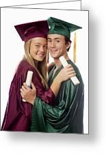 Graduation Couple Greeting Card